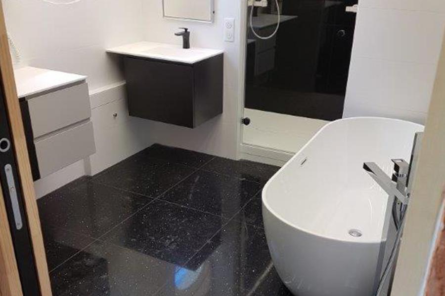 Création salles de bain, carrelage | Sarte (72). - Daumont Patrick